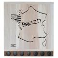 "KIT PLANCHE (70 x 70 CM) ""BREIZH"" + PALETS"