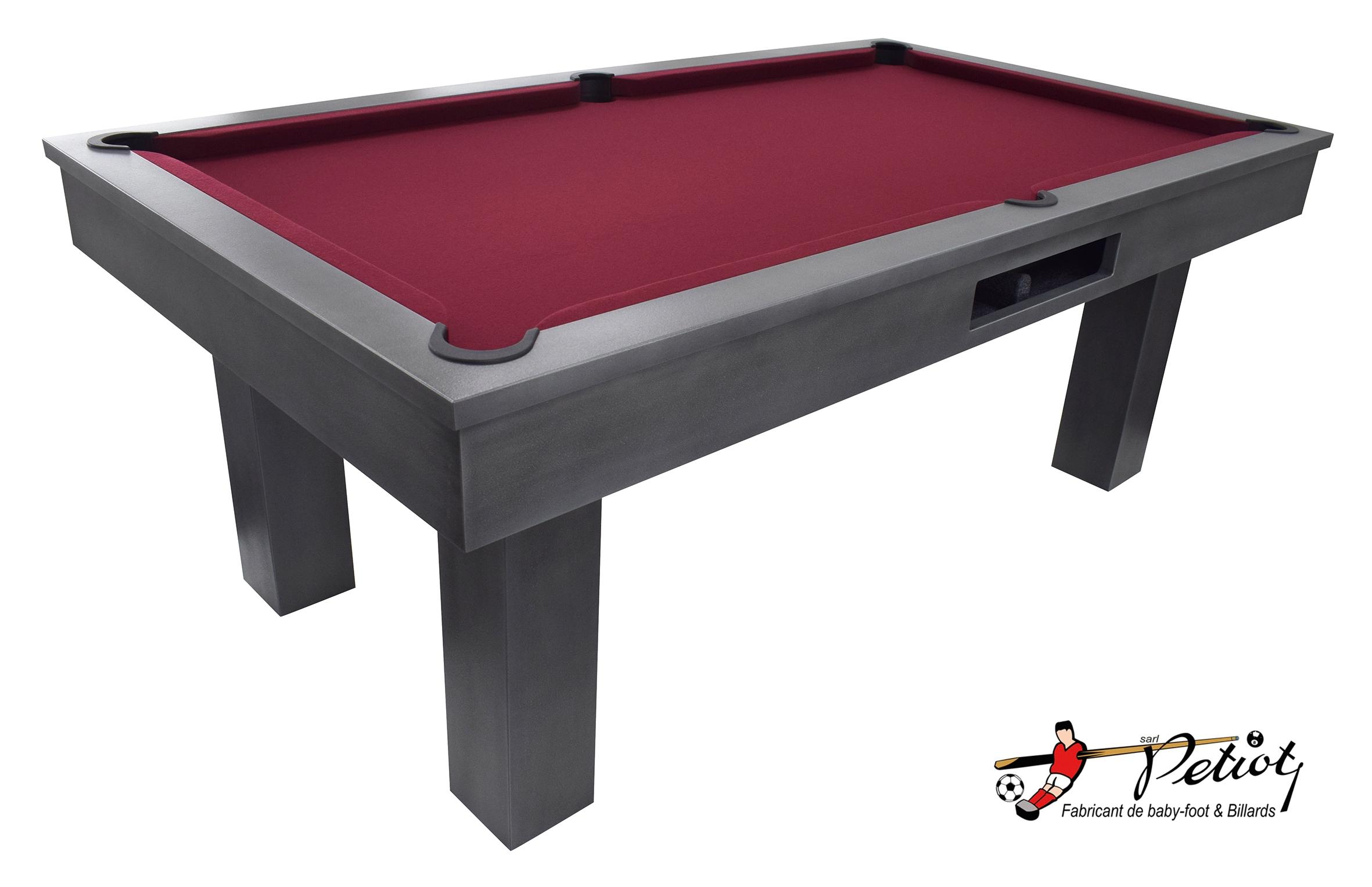 * * 4/x Table de billard pieds Disponible en plusieurs couleurs * * * * * *