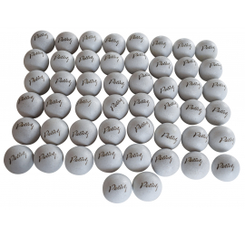 50 BALLES BLANCHES