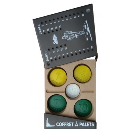 COFFRET ET JEU VENDEEN EN FONTE COULEUR