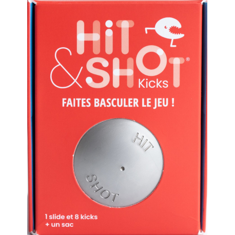 JEU HIT & SHOT STANDARD AVEC SAC DE RANGEMENT