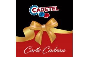 CARTE CADEAU ROUGE ET NOIR